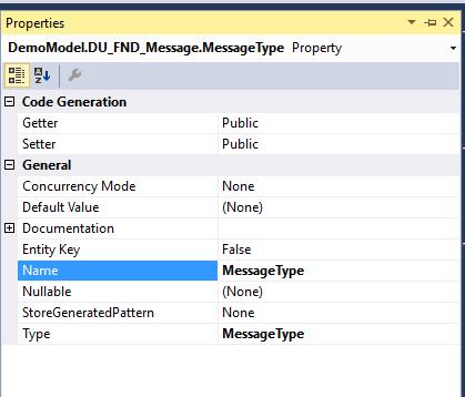 Entity Framework: Enum